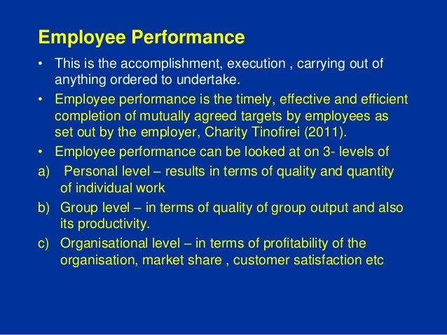 the relationship between leadership and employee performance Therefore to examine the relationship between leadership styles (ie, autocratic, democratic and laissez-faire) and employee leadership has been convinced in improving employees performance and increasing the chance to achieve organization's goals as well as increasing employee's engagement with the.