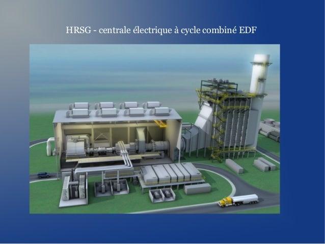 HRSG - centrale électrique à cycle combiné EDF