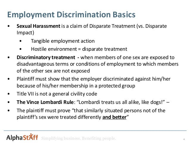 title vii Of 1964 (title vii) was meant to end employment discrimination and have not   cognitive dissonance theory was created by social psychologist leon festinger.