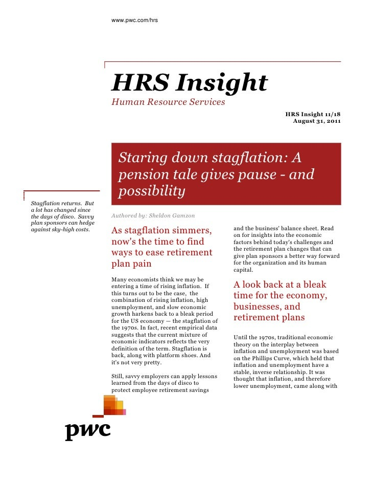 www.pwc.com/hrs                           HRS Insight                           Human Resource Services                   ...