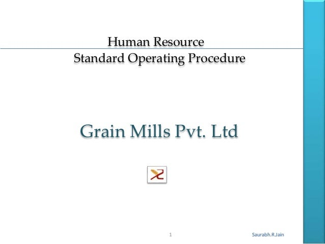 Human Resource SOP
