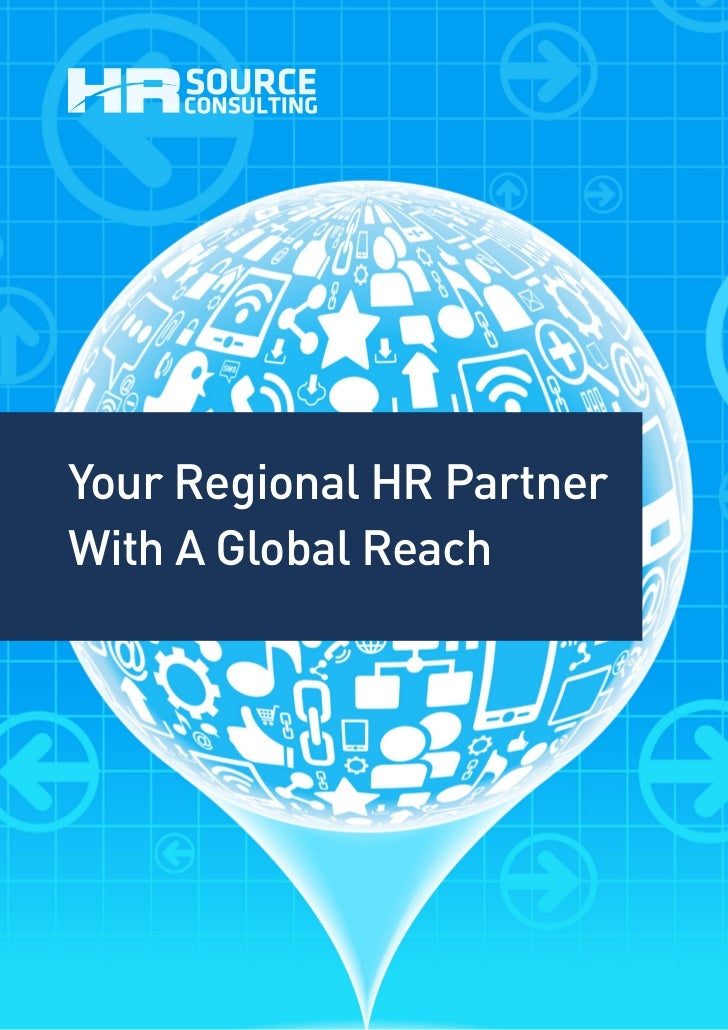 Your Regional HR PartnerWith A Global Reach