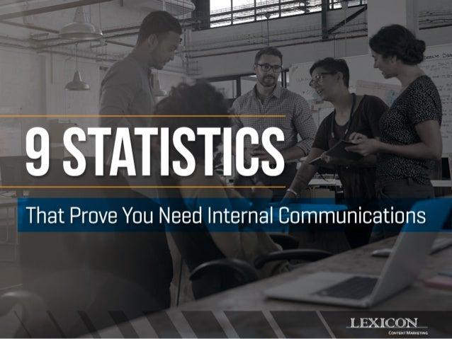 9 Statistics That Prove You Need Internal Communications