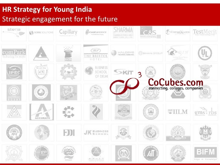HR Strategy for Young India Strategic engagement for the future