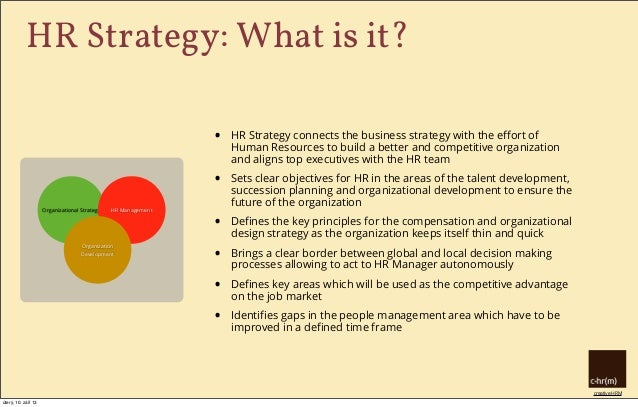 Hr Strategy: What Is It? Why Do We Need It?