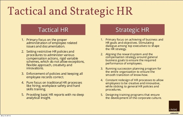 Human Resources Strategy Example - Ex