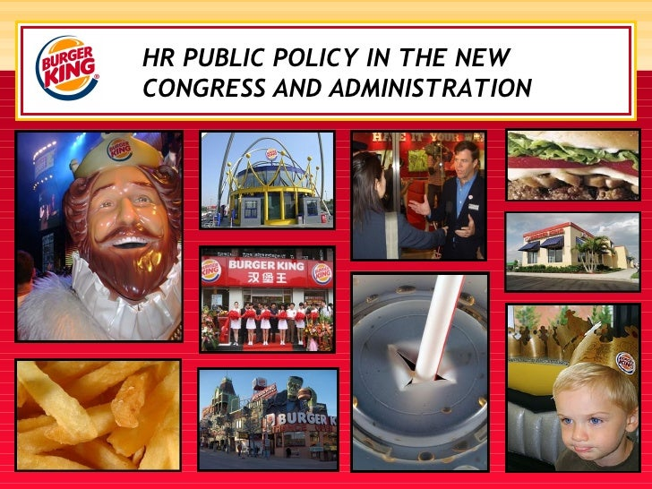 HR PUBLIC POLICY IN THE NEW CONGRESS AND ADMINISTRATION