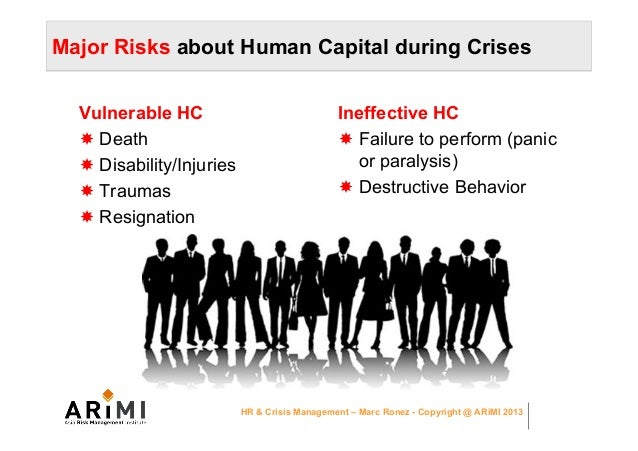 crisis management in today organization hr Plan and prepare how your organization will communicate with employees during a crisis  crisis management in today's  serve as the designated crisis management group hr should be embedded.