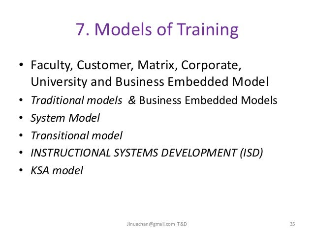 the business embedded model