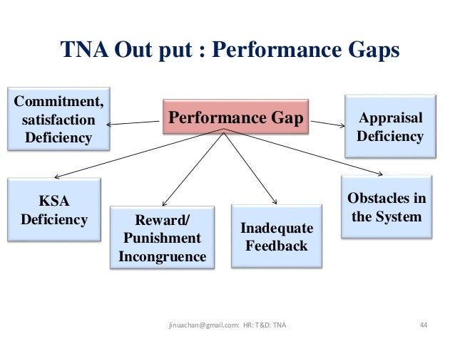 training needs performance I know this from my years at disney – and i knew then that training  our remit –  and the real need – is performance & capability, isn't it.