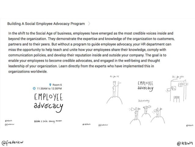 Building A Social Employee Advocacy Program  In the shift to the Social Age of business,  employees have emerged as the mo...