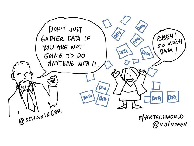 Download this presentation and he individual illustrations at: http://businessgoessocial.net/hrtechcartoons