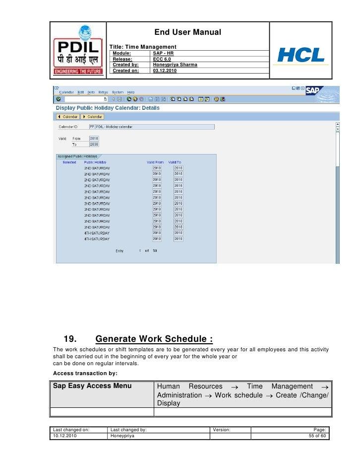 sap hr time management user guide www sapdocs info rh slideshare net HR SAP Interfaces SAP HR Conference 2013
