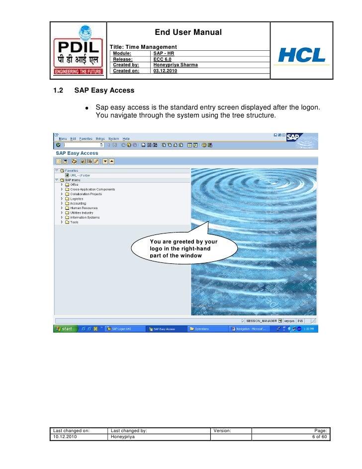 sap hr time management user guide www sapdocs info sap hr end user manual sap hr time management end user manual