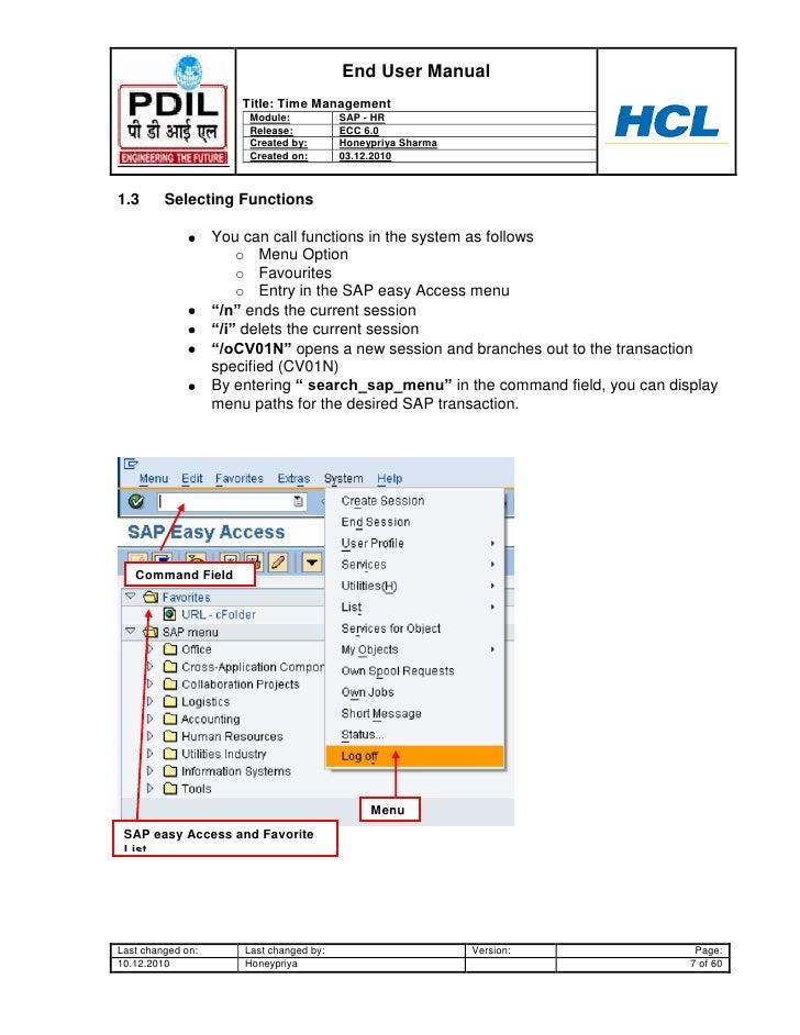 sap hr time management user guide www sapdocs info rh slideshare net SAP HR Logo SAP HR Renewal