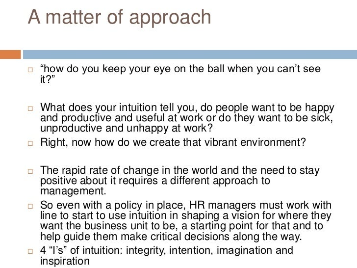 how can you as a manager create and sustain a diversified and productive environment Why work-life balance is important when employees feel a greater sense of control and ownership over their own lives, they tend to have better relationships with management and are able to leave work issues at work and home issues at home.