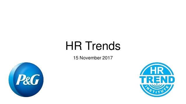 HR Trends 15 November 2017