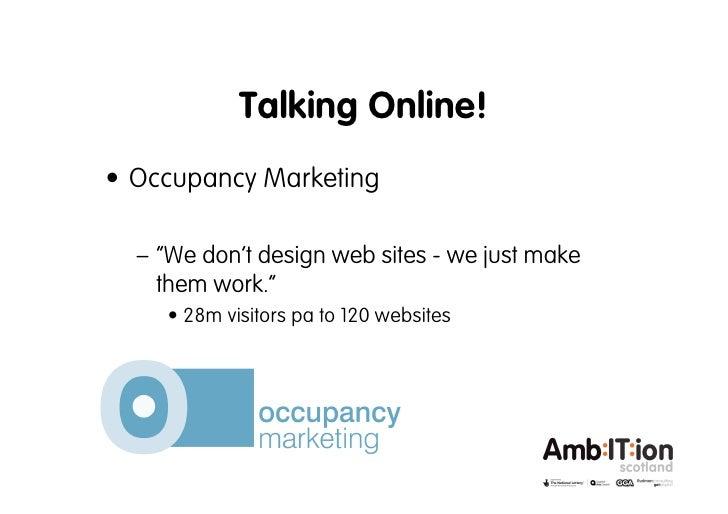 Getting Digital Webinar 2: Talking Online Introduction by Hannah Rudman