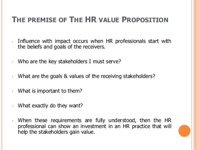human resources value proposition of gasco Public sector human resources your employee value proposition the employee value proposition (evp) framework is segal's cornerstone total rewards strategy.