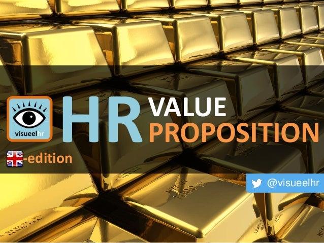 HRVALUE PROPOSITION @visueelhr -edition