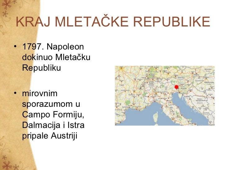 Hrvatska u napoleonovo doba Slide 3