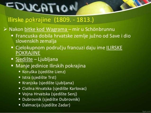 Hrvatske zemlje pod francuskom vlašću Slide 3