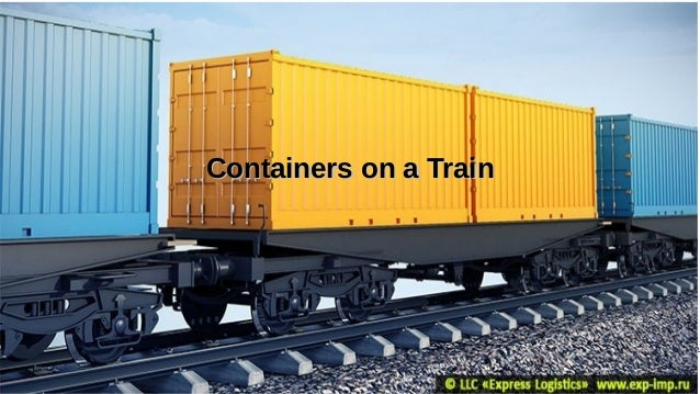 Supply Chain Management Mohammad Tawfik #AcademyOfKnowledge http://SCM.AcademyOfKnowledge.org Containers on a Train Contai...