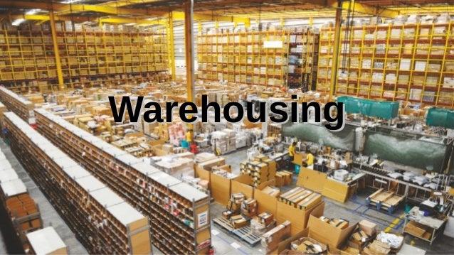 Supply Chain Management Mohammad Tawfik #AcademyOfKnowledge http://SCM.AcademyOfKnowledge.org Warehousing Warehousing