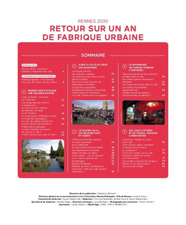 Les Rennais - Hors série Rennes 2030 - septembre 2017 Slide 3