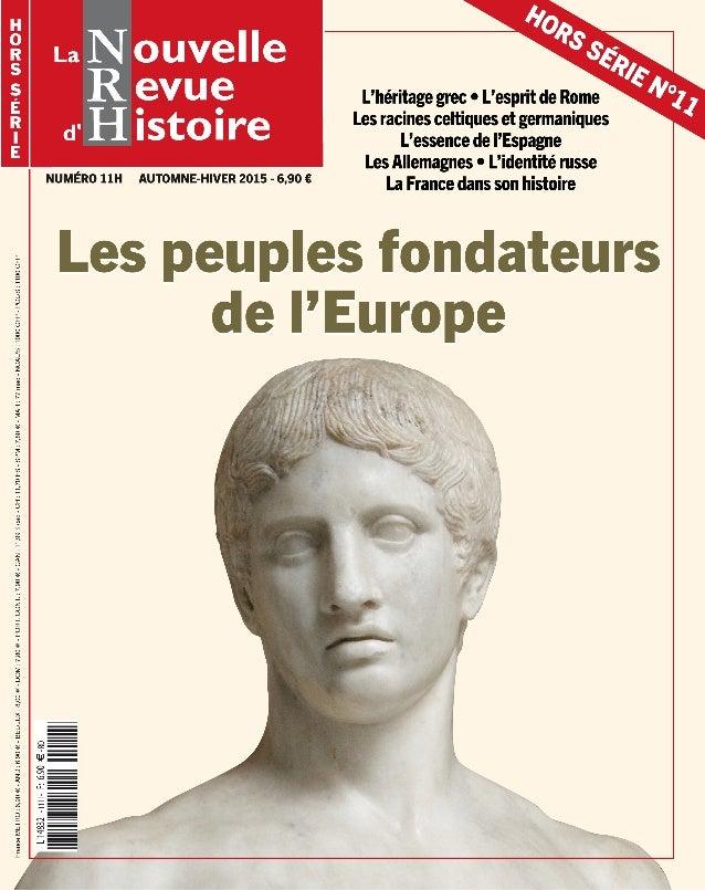 La Nouvelle Revue d'Histoire - Hors-série n°11 - extrait