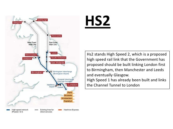 HS2Hs2 stands High Speed 2, which is a proposedhigh speed rail link that the Government hasproposed should be built linkin...