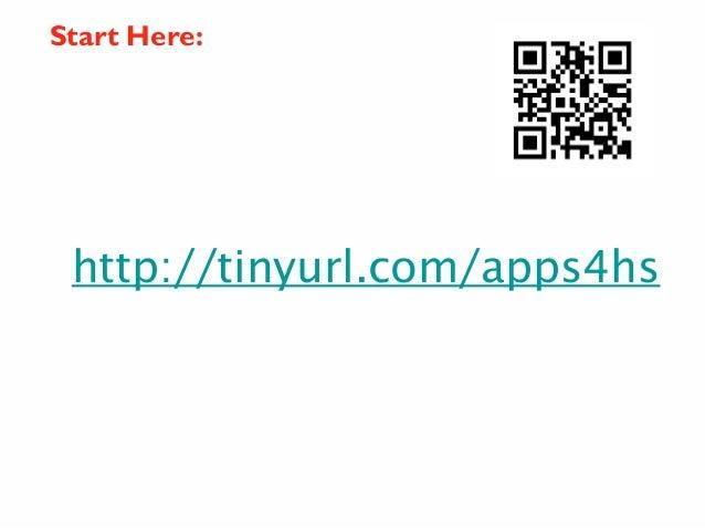Start Here:  http://tinyurl.com/apps4hs