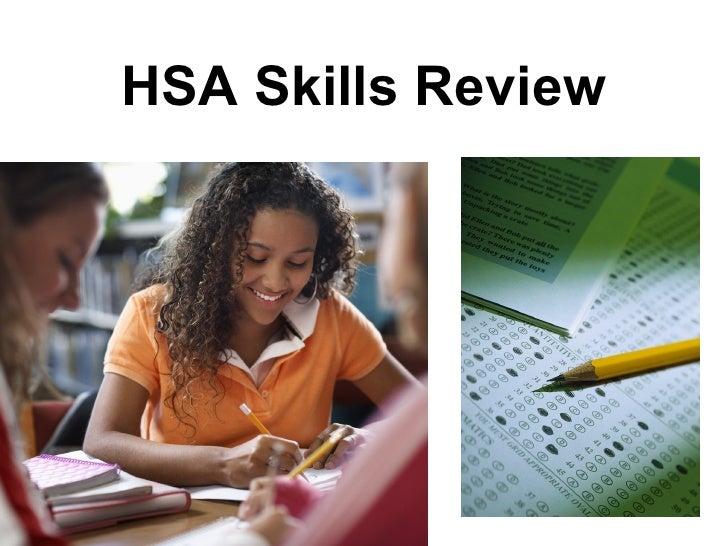HSA Skills Review