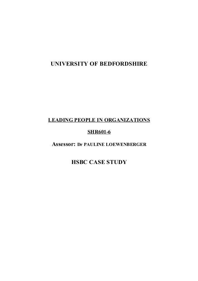 hsbc in china case study