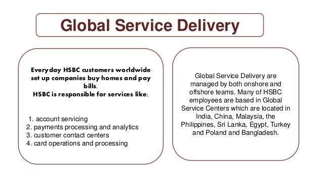 MIS & computer related activities of HSBC