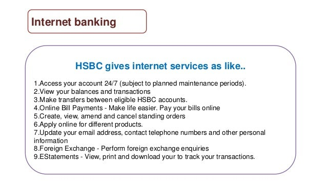 Hsbc online business banking contact