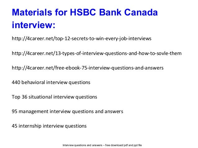 HSBC Interview: 8 Must Know Questions and Answers