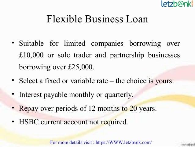 Hsbc business loan