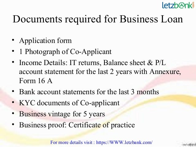 Hsbc business loan 9 documents required for business loan application form accmission Images