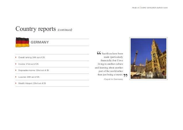 HSBC Expat Explorer Survey 2010