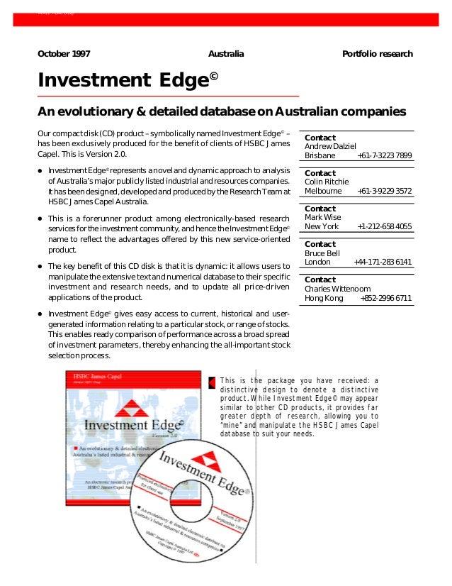 HSBC Investment Edge