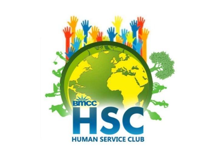 Human Services Club - Meeting 1