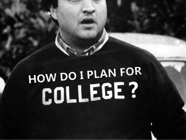 When thinking  about college…
