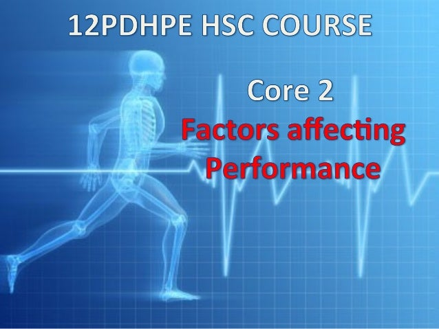 1) How does training affect performance? 2)How can psychology affect performance? 3) How can nutrition and recovery strate...