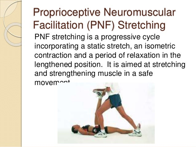 the role of proprioceptive neuromuscular facilitation stroke Proprioceptive neuromuscular facilitation  in order to evaluate different role of  plegic patients with ischemic stroke: proprioceptive or cognitive approach.