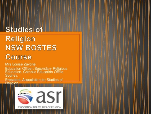Studies Of Religion Christianity Essay
