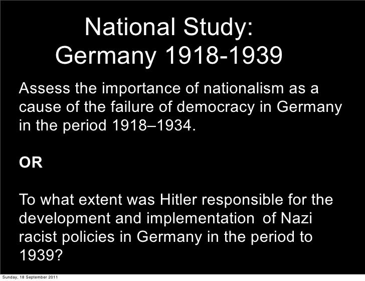 to what extent was hitler responsible Get an answer for 'source 7 contradicts the common understanding of how the holocaust happened to what extent were hitler and the nazis responsible for the holocaust' and find homework help for.