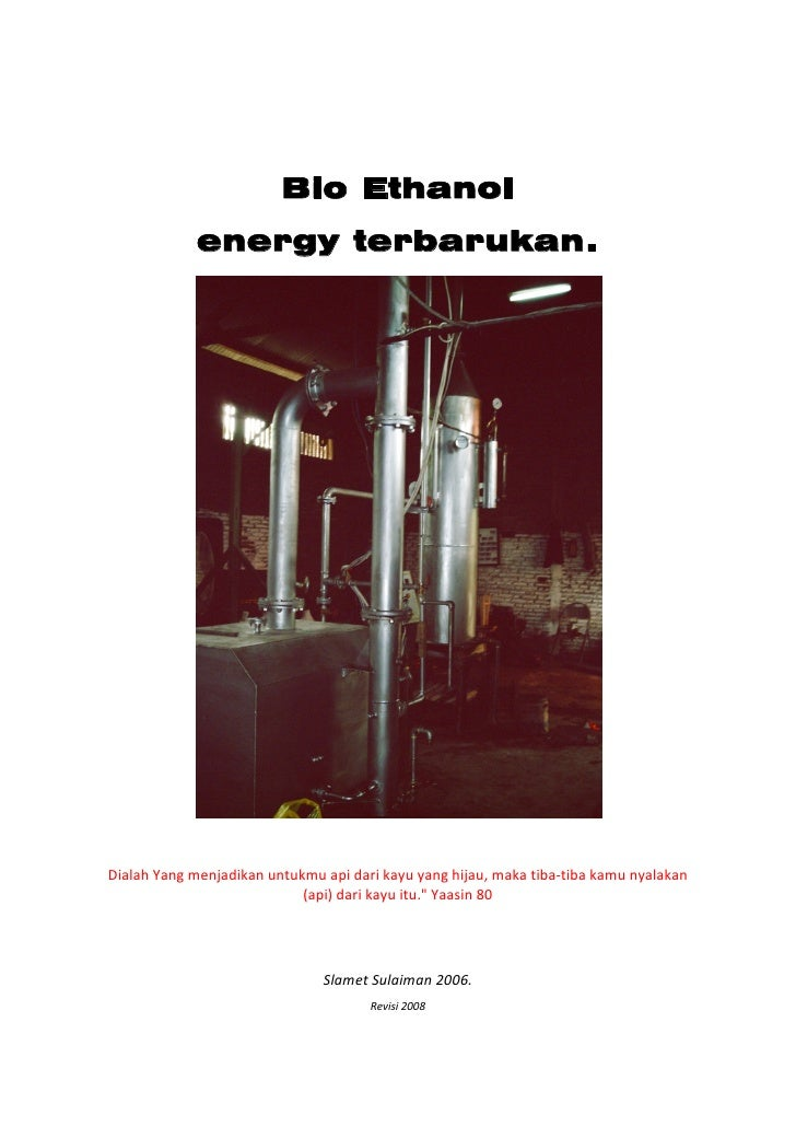 Bio Ethanol                  energy terb...