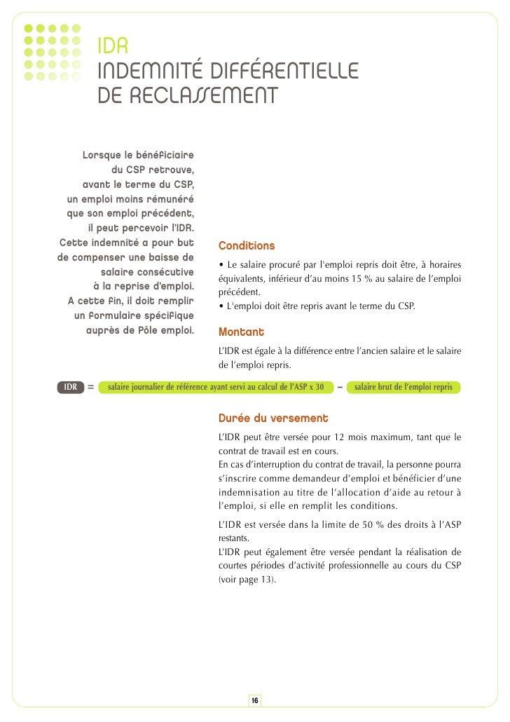 Le Contrat De Securisation Professionnelle