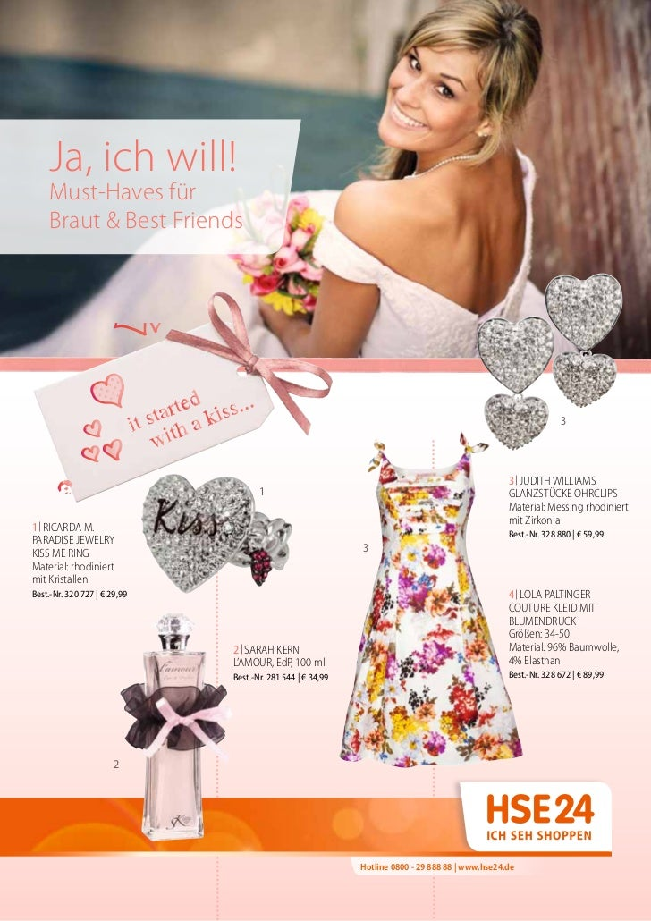Ja, ich will!    Must-Haves für    Braut & Best Friends                                                                   ...